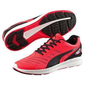 Tenis Puma Ignite V2 Running Correr Caballero Rojo Naranja