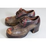 Sapato Cavalo De Aço Antigo
