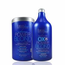 Power Blond Kit Descoloração Pó E Ox 35 Vol Forever Liss