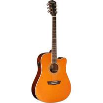 Washburn Guitarra Electro Acustica Tangerine Modelo Wcg18ce