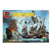 Golden Hind Escala 1/72 Airfix 00264
