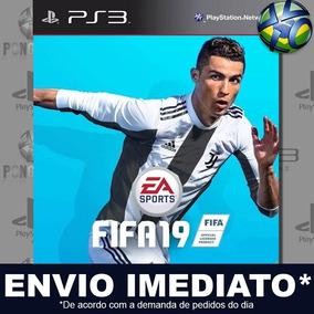 Ps3 Fifa 19 Mídia Psn Jogo Português Envio Agora Lançamento