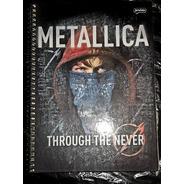 Caderno Universitario Escolar Metallica 200 Folhas