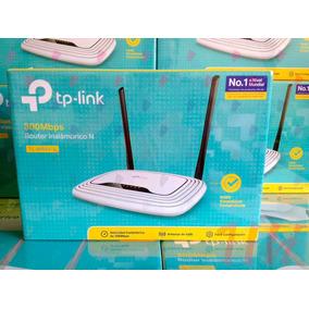 Router Wifi Tplink 2 Antenas 300mbps Wr841n Garantia Factura