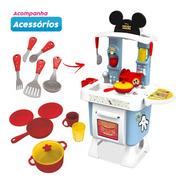 Cozinha Fantástica Mickey Completa Com Forno Panelas Xalingo