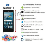 Telefono Celular Zte Fanfare 2 Z815 Android 8,0gb Lcd 4.5