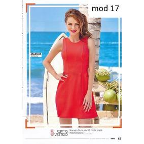 Vestido Naranja Cklass 932-12 Outlet/saldos Mchn