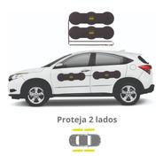 Protetor De Porta Para Carros Shields - Largo Kit C/ 4 Prote