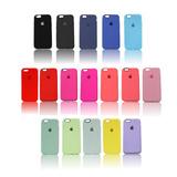 Iphone 6 6s Capinha Silicone Emborrachada Flexível Qualidade