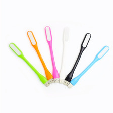 Lámpara Usb Led Flexible De Colores Portátil Celular Laptop