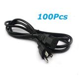 Lote De 100pcs Ordenador Pc Monitor 3 Dientes 6 Pies Cable