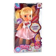 Muñeca Vicky Canta Y Camina La-le-lu E.full