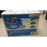 Piscina Intex Con Motor Filtro Nueva