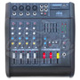 Mixer Consola Con Power 4 Canales 300w Akc