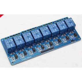 Modulo 8 Relés / Canales 5v Para Arduino Arm Pic Raspberry