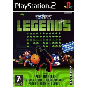 Comprar Jogos Patch Taito Legends P/ Playstation2 Play2 Ps2