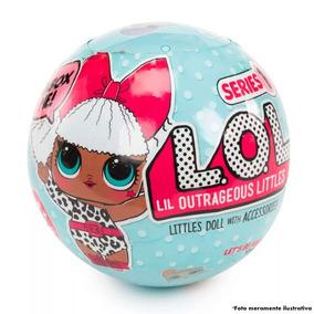 Boneca Lol Lil Surpresas Série 1 Lql - Pronta Entrega