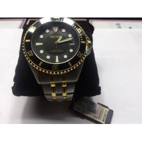 dec96e4c123 Relógio Magnum Masculino Dourado Ma32649h Esportivo - Relógios De ...