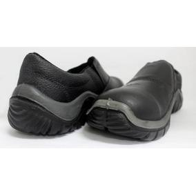 Sapato Estival Wo-1002 Com Elástico E Com Bico De Proteção