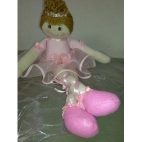 Bonecas De Pano Bailarina 45 Cm