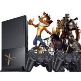 Playstation 2 Desbloqueado+2 Controles + Jogos + Memory Card