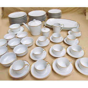 Vajilla Porcelana Verbano Platos Tazas Compoteras Antigua