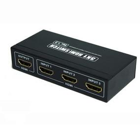 Ligar Um Aparelho Em 3 Monitor Tv Lcd 3 Entradas 1 Saida