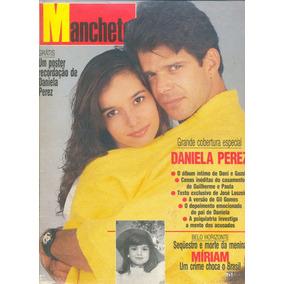 Manchete 1993 - Daniela Perez / Xuxa / Roberta Close /