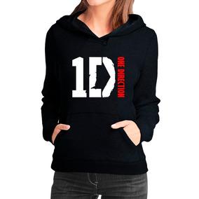 Moletom One Direction Feminino Casaco Canguru/blusa De Frio