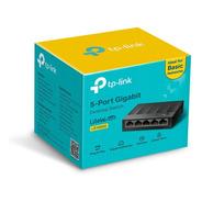 Switch Tp Link Escritorio Ls1005g De 5 Puertos 10/100/1000