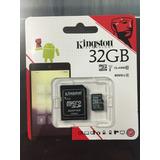 Memoria Micro Sd Kingston 32gb