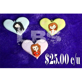 Dije De Corazón Chicas Chic Pasta Francesa $25.00