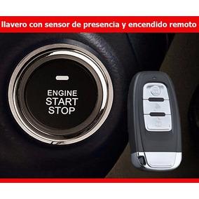 Boton De Encendido Automovil Pke Llavero De Presencia Alarma