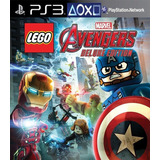 Lego® Marvels Avengers Deluxe Ps3 Digital (no Disco)