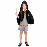 Fantasia Hermione Harry Potter - Infantil Tam M 6|8 Original
