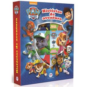 Livro Patrulha Canina - Histórias De Aventura - Box Com 6