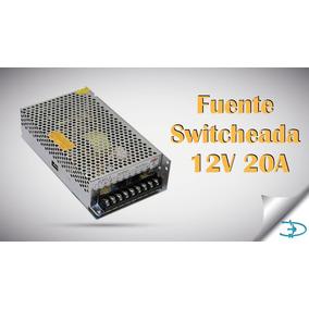 Fuente De Poder Switcheada 12v 20a -240w Impresora 3d