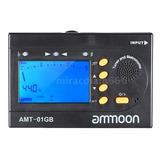 3 En 1 Digital Afinador + Metrónomo + Tono Generador