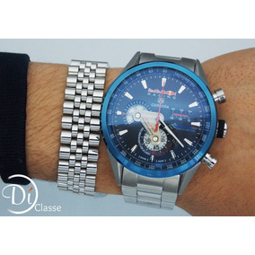 Reloj Tag Heue Carrera Red Bull Racing Black+envio