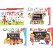 Escritura Script Y Cursiva Para Niños Kinder 1, 2 Y 3