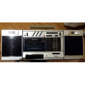 Radio Sony Cfs-3000s Multibanda Am Fm Sw Boombox