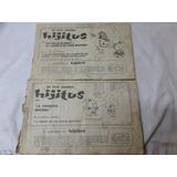 Revistas Aventuras De Hijitus Nº 68 Y 80 1974 Lote X 2