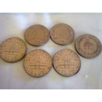 530 Monedas 1 Peso 1957 Al 1960