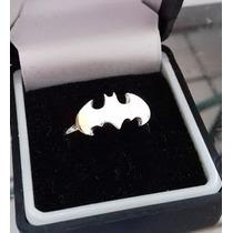 Anillo Batman Plata .925, Pareja, Comic, Logo!!