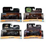 Batman Batimovil Batmobile Jada Metals Diecast 1:32 Set 4 Pz