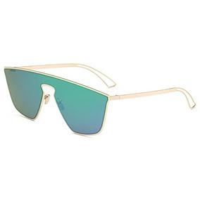 998c12049d Gafas De Sol Cuadradas De La Lente Plana Coloreada Futurista