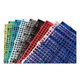 Piso Estrado Plástico 2,5 25x50 Todas Cores Qualidade Total