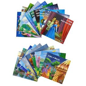 Coleção Infantil Clássicos Favoritos 20 Livros + Brinde