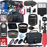 Canon Eos Rebel T7i Cámara Digital Slr Kit Creador De Vídeo