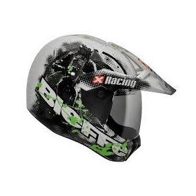Capacete Bieffe 3 Sport X Racing Branco Lancamento Top 58-60